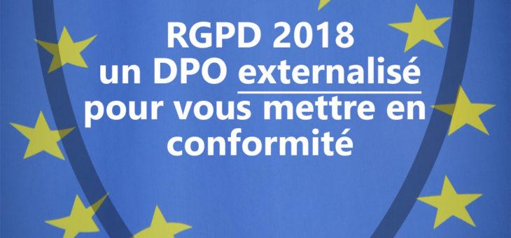 Avez-vous pensé au DPO externalisé pour le RGPD ?