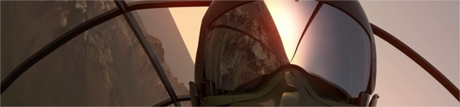 Illustration de l'offre Nuxly DSI externalisé (il s'agit d'un pilote d'avion de chasse)