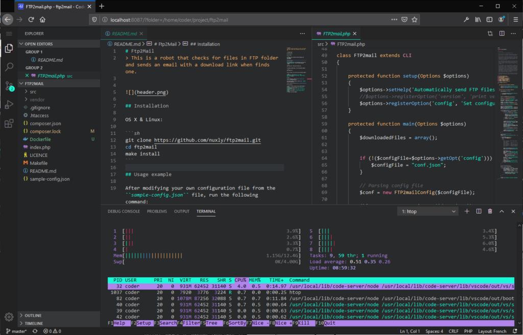 code-server-screenshot