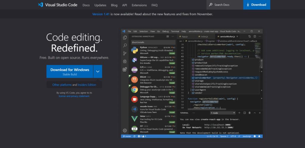 vs-code-website